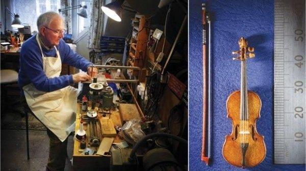 violín miniatura