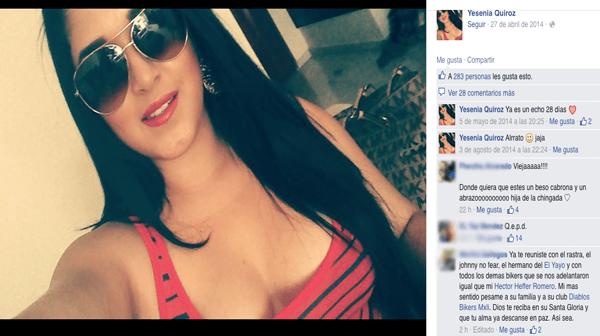 Yesenia Quiroz Alfaro Narvarte 5Asesinados