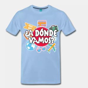 Camisetas a donde vamos